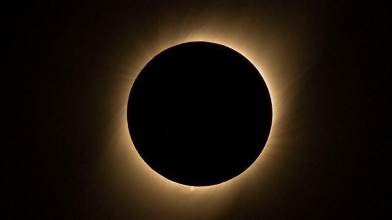 Most dramatic ring of fire solar eclipse in years to dim